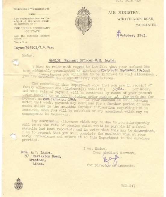 10. 19th October 1943