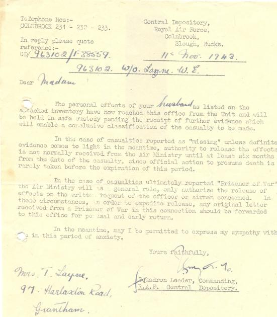 11. 11th November 1943