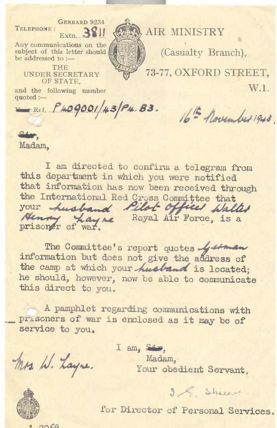 13. 16th November 1943 (a)