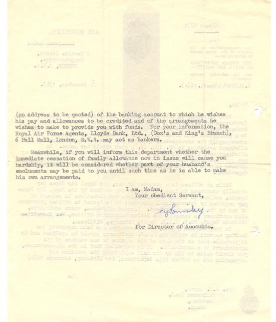 20. 3 December 1943 (a)