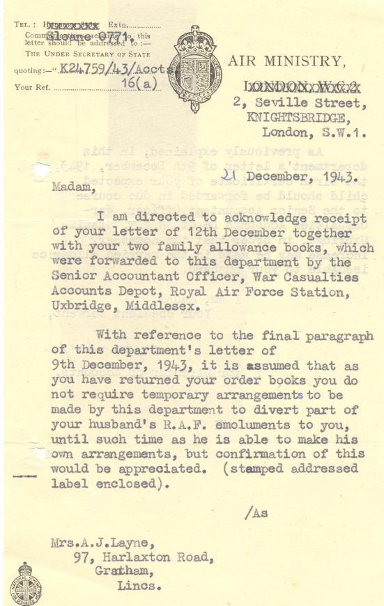 28. 21st December 1943