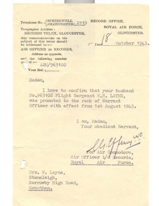 9. 18 th October 1943