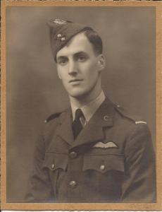 Walter Petch in uniform